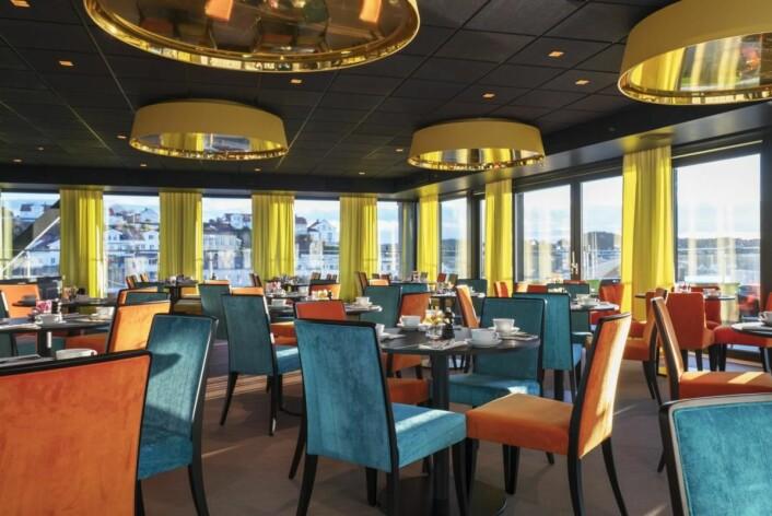 Frokostsalen på Thon Hotel Arendal. (Foto: Thon Hotels)
