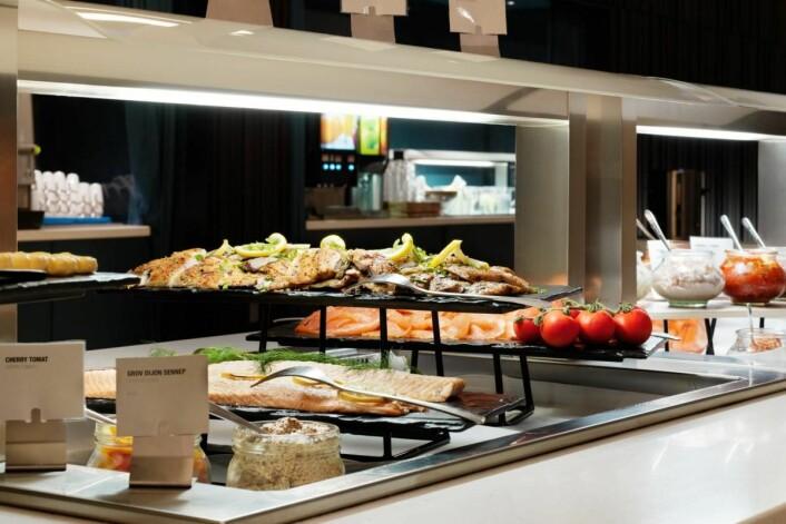 Frokosten på Scandic Oslo Airport Hotel er plukket ut som wild card. (Foto: Scandic Hotels)