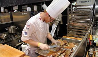 Dette er deltakerne i NM i kokkekunst