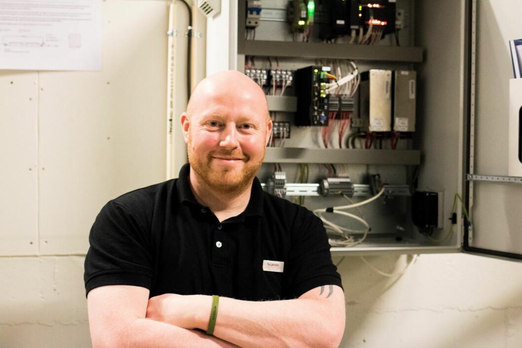 Teknisk sjef på Scandic Bakklandet, Svein Arne Eggen. (Foto: Apurgo)