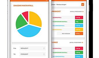 Ny app lansert i kampen mot matsvinn