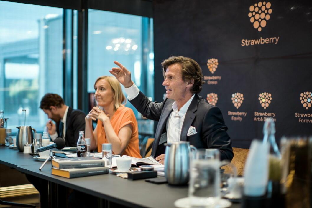 Petter A. Stordalen utlyser ny gründermillion. (Foto: Vibbio for Strawberry)