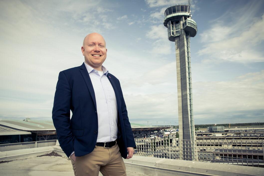 Områdene rundt Oslo Lufthavn byr på spennende opplevelser for reisende som har litt tid til overs, sier Frank Kaspersen (32), assisterende hotelldirektør ved Park Inn by Radisson Airport Hotel på Gardermoen. (Foto: Park Inn by Radisson Airport Hotel)