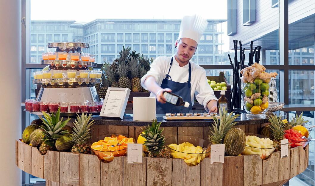 Frokost på Scandic Nidelven. (Foto: Scandic Hotels)