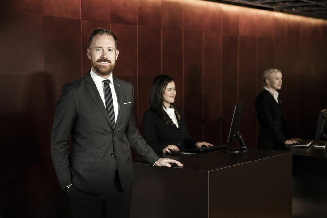 Kristoffer Solstad, HR-direktør for Carlson Rezidor Hotel Group i Norden. (Foto: Rezidor)