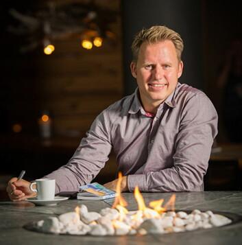 Pontus Åkesson leder begge Radisson Blu-hotellene i Trysil. (Foto: Rezidor)