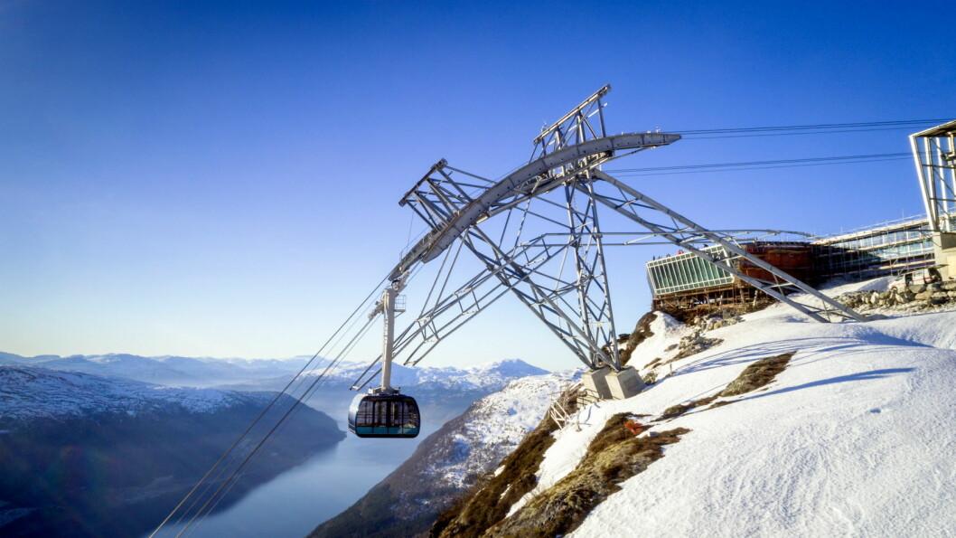 Loen Skylift. (Foto: Lars Korvald/Loen Skylift)