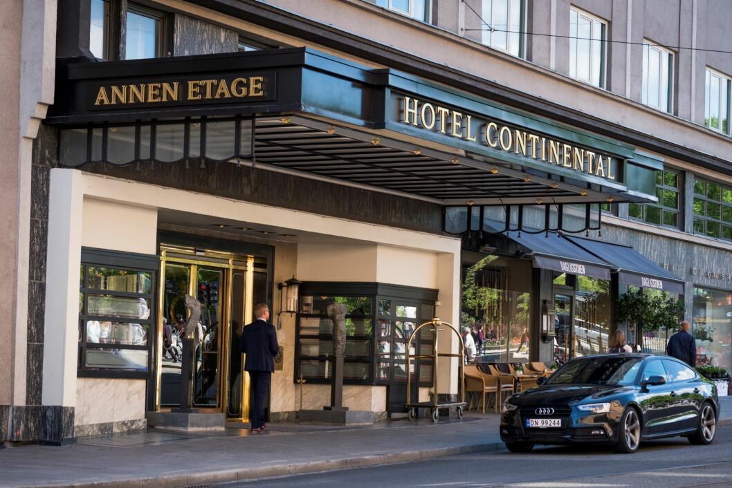 Hotel Continental hadde et historisk godt resultat i 2016. (Foto: Hotel Continental)