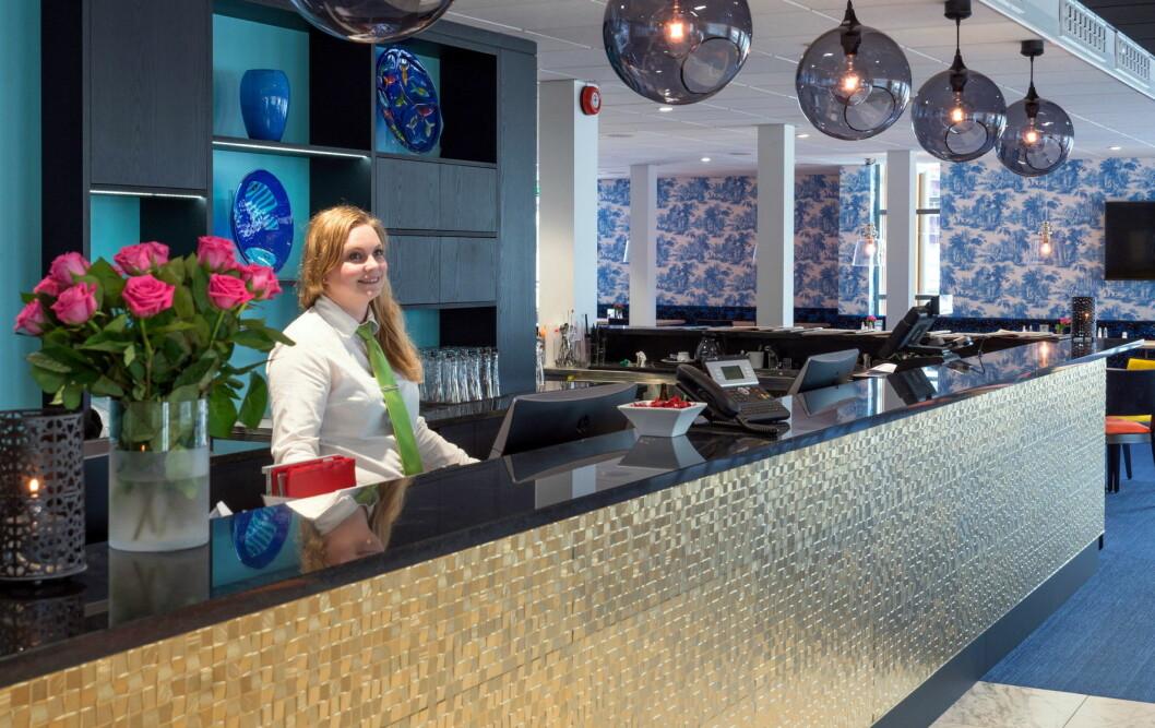 Ønsker velkommen til nye Thon Hotel Tønsberg Brygge. (Foto: Thon Hotels)