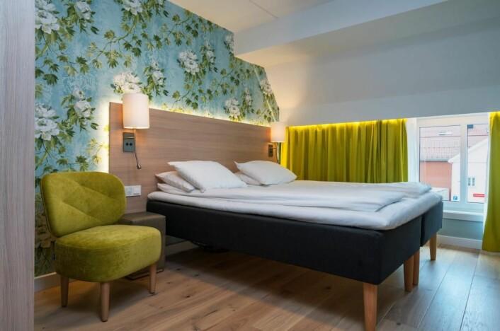 Alle de 72 rommene er totalrenovert. (Foto: Thon Hotels)