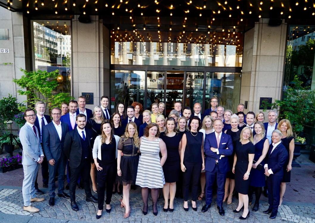 Ledertalenter i Scandic som nå har gjennomført Talent@Scandic. (Foto: Scandic Hotels)