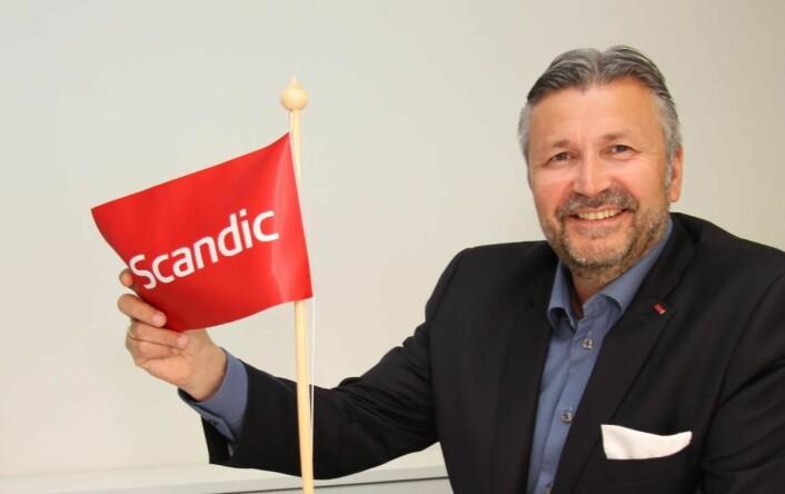 Administrerende direktør for Scandic Hotels i Norge, Svein Arild Steen-Mevold. (Foto: Morten Holt)