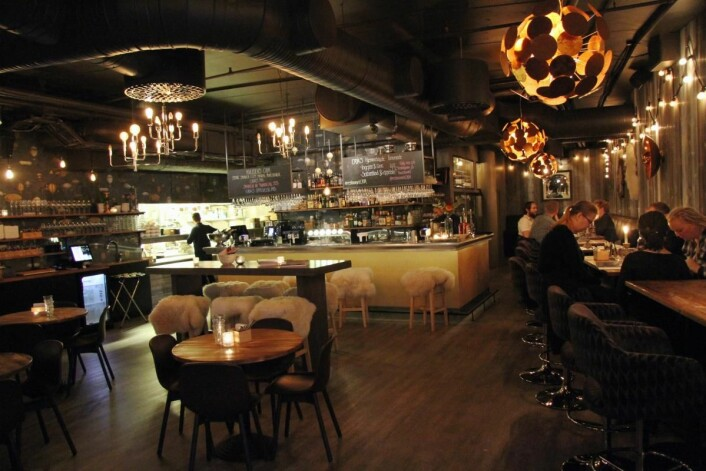 Restauranten Caya i Trondheim måtte stenge dørene sist lørdag. (Foto: Morten Holt)