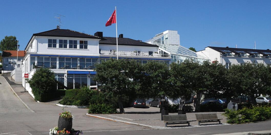 Thon Hotel Åsgårdstrand blir til Grand Hotel Åsgårdstrand. (Foto: Thon Hotels)