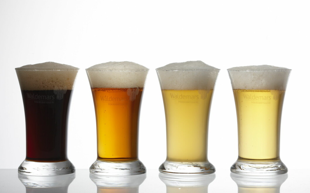 Det er mange momenter som påvirker ølets skum. (Foto: Hansa Bryggeri)