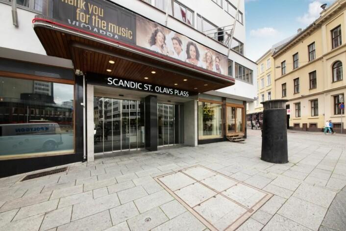 Scandic St. Olavs plass ble fylkesvinner i Oslo, og sørget for at fjorårets sølvvinner i konkurransen, Thon Hotel Rosenkrantz, ble med videre som wild card. (Foto: Scandic Hotels)