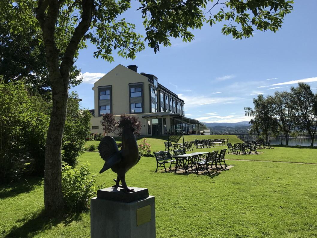 Norske hoteller satte rekord i juni. Her fra Fru Haugans Hotel i Mosjøen. (Foto: Morten Holt)