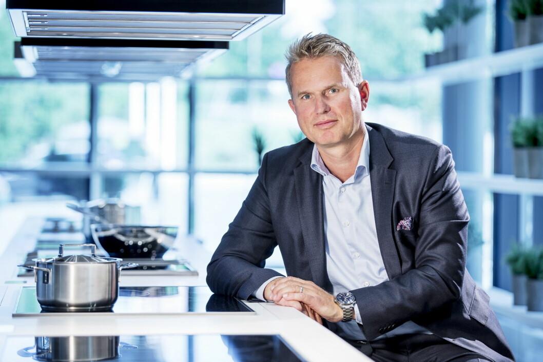 Anders Kjekstad er ny sjef for Miele i Norge. (Foto: Miele)