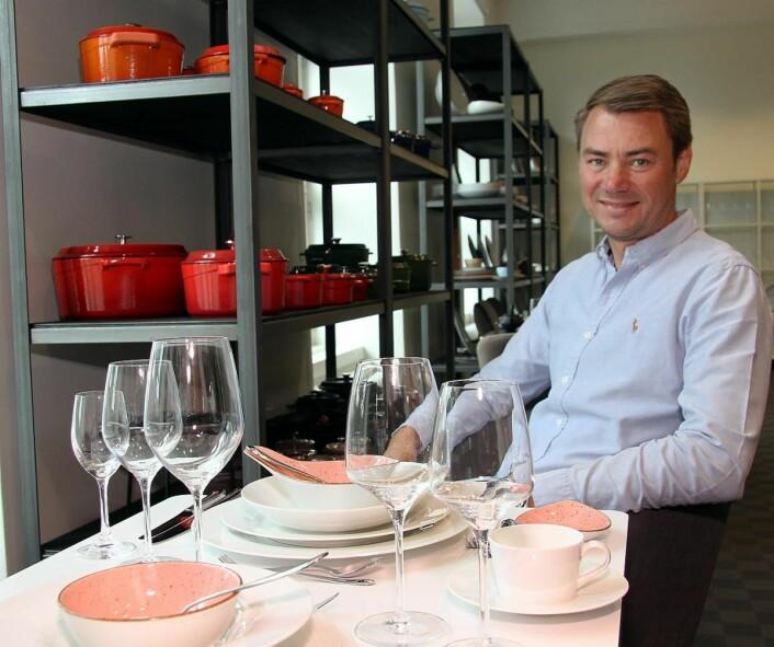 <em>Ole Henrik Eftedal har nesten 25 års erfaring fra horecabransjen. Sammen med 2080.no har han åpnet en ny konseptbutikk på Skøyen i Oslo. (Foto: Morten Holt)</em>