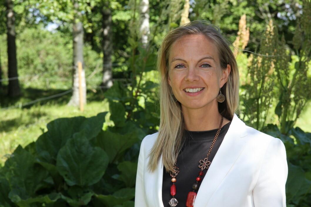 Torunn Tronsvang står bak selskapet Up Norway. (Foto: Morten Holt)