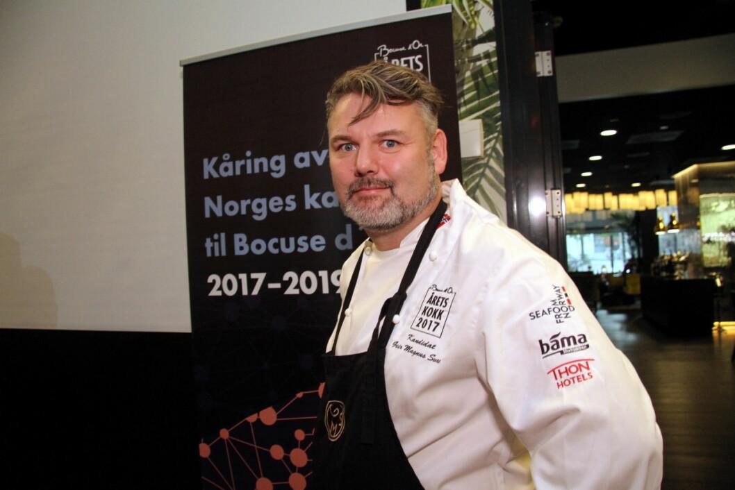 Geir Magnus Svae. (Foto: Morten Holt)