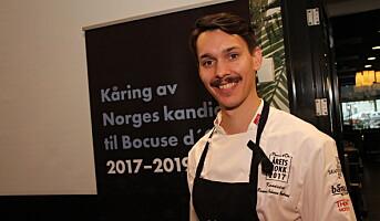 Årets kokk-kandidat: Rasmus Johnsen Skoglund