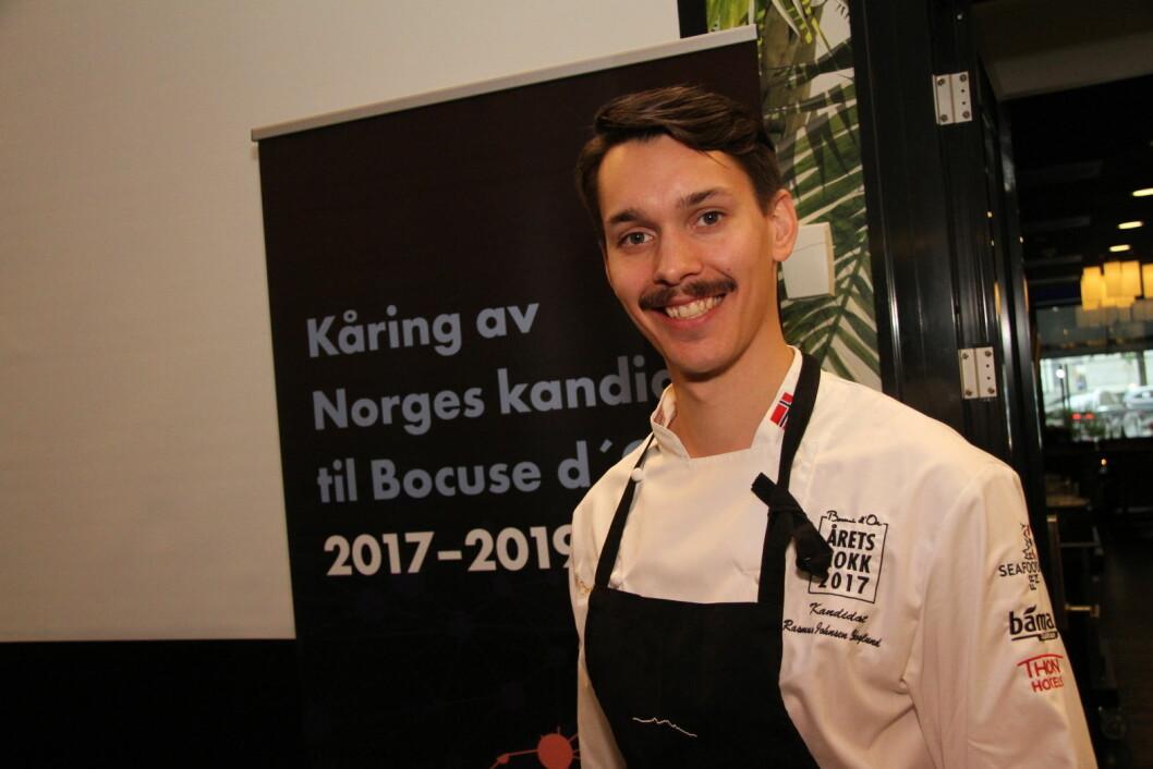 Rasmus Johnsen Skoglund. (Foto: Morten Holt)