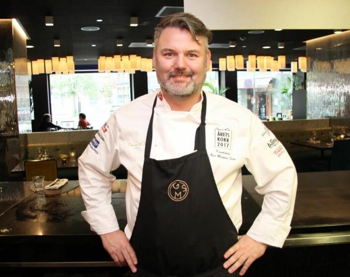 Geir Magnus Svae er konsernkjøkkensjef for Bølgen & Moi. (Foto: Morten Holt)