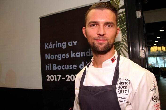 Øyvind Bøe Dalelv er én av tre finalister fra Nordland. (Foto: Morten Holt)