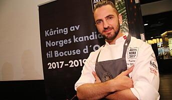 Årets kokk-kandidat: Filip August Bendi