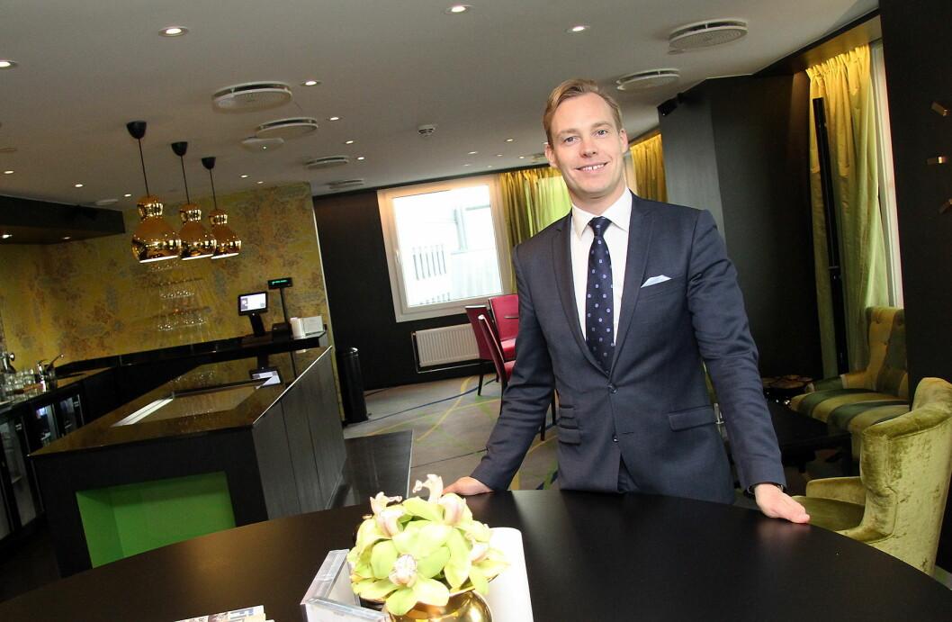 Lars Petter Mathisen blir ny hotelldirektør for Hotel Bristol i Oslo. (Foto: Morten Holt)