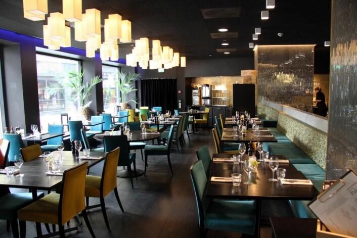Restaurant Paleo på Thon Hotel Rosenkrantz har høstet stor anerkjennelse under Mathisens ledelse. (Foto: Morten Holt)