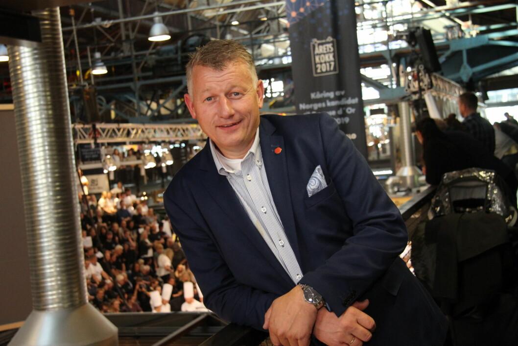 Espen Wasenius er ny daglig leder i Norges Kokkemesteres Landsforening. (Foto: Morten Holt)