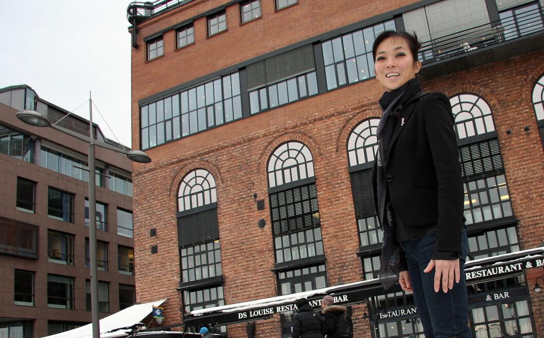 Helene Skjenneberg er administrerende direktør for Leon i Norge og Sverige, en britisk restaurantkjede som nå skal etableres i de to landene. (Foto: Morten Holt)