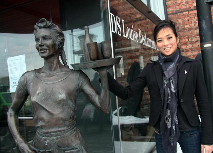 Helene Skjenneberg har mange års erfaring fra hotell- og restaurantbransjen, og har de siste årene ledet Mat & Drikke AS, som har flere restauranter på Aker Brygge. (Foto: Morten Holt)