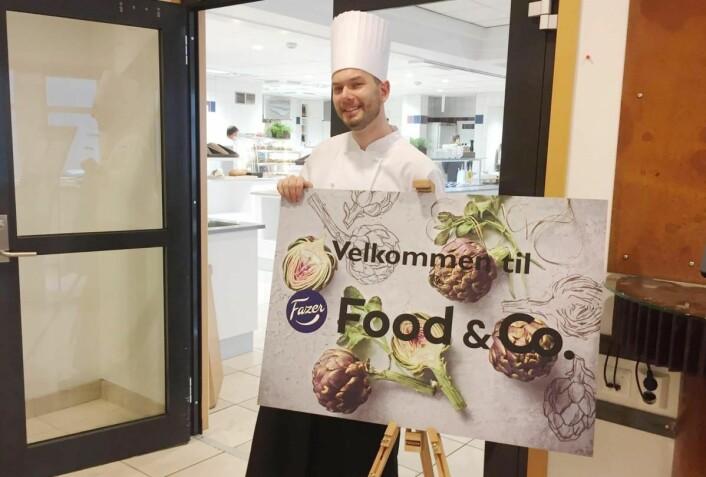 Fazer Food Services har åpnet en personalrestaurant hos GC Rieber Motorhallen i Bergen. (Foto: Fazedr Food Services)