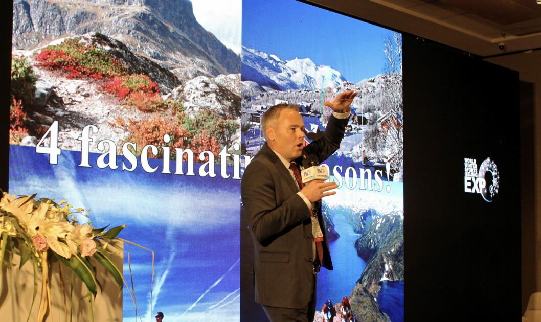 – Resultatene vi kom hjem med etter besøket i Beijing har gitt oss helt konkrete prosjekter vi skal følge opp, sier direktør Atle Hovi i Beitostølen Resort. (Foto: DestinasjonsKirurgene)
