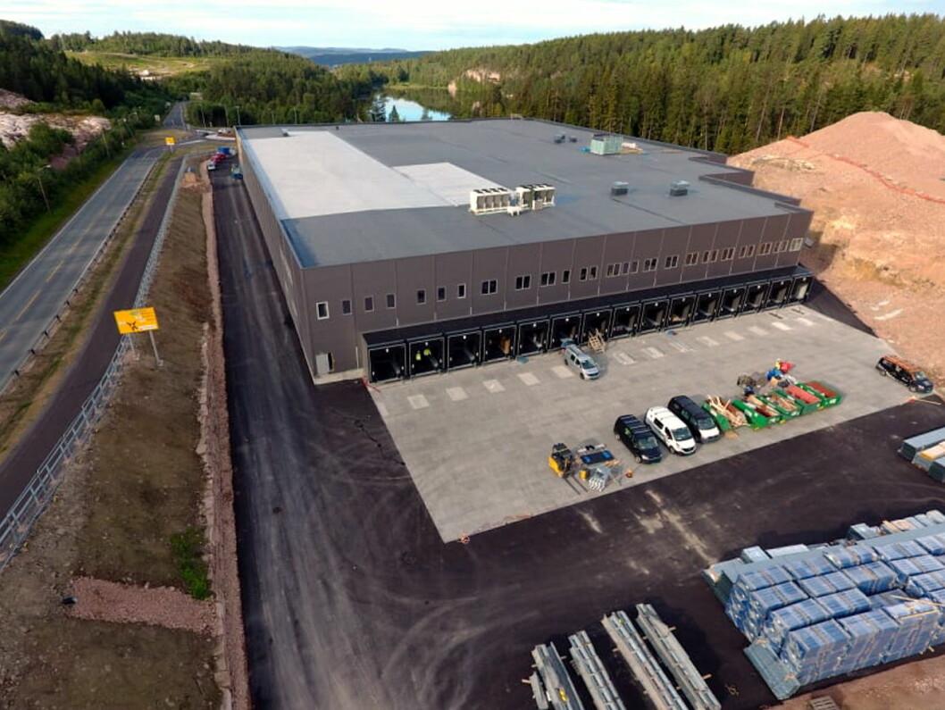 Cater AS' anlegg på Lierskogen (Foto: Cater AS)