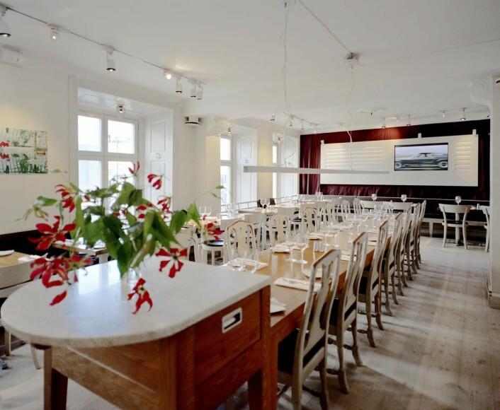 Fra restauranten på Hotel Anno 1647 i Stockholm. (Foto: Best Western)