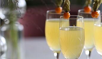 Finn champagneglass fra Hadeland Glassverk