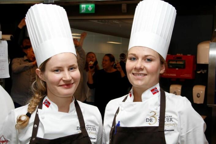 De to vinnerne, Idunn Nilsen (til venstre) og Camilla Berg Mårtensson, har kjent hverandre i lang tid. (Foto: Nils Henrik Sjo)