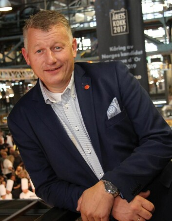 – Det er en sterke deltakere med i 2017-finalen av NM i kokkekunst, sier daglig leder i NKL, Espen Wasenius. (Foto: Morten Holt)