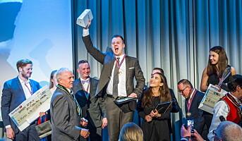 Kjell Patrick Ørmen Johnsen vant NM i kokkekunst