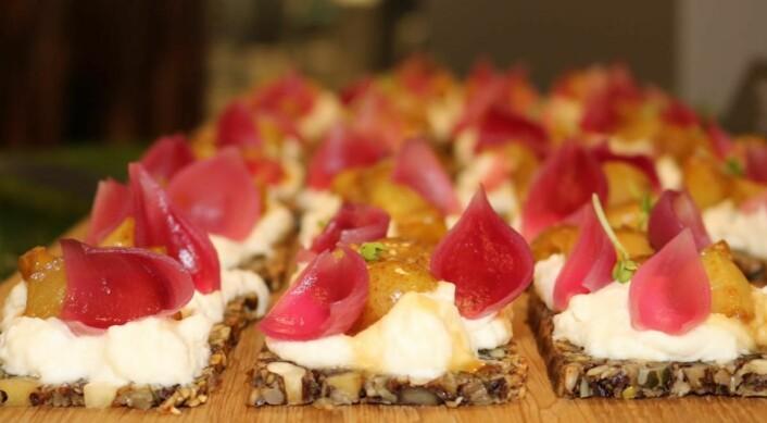Det ble serverte mange gode og fine retter i kantine-NM. (Foto: Arrangøren/Nina Borgen)