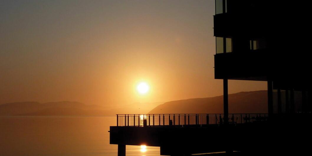 Thon Hotel Kirkenes ligger på kaikanten. (Foto: Thon Hotels)