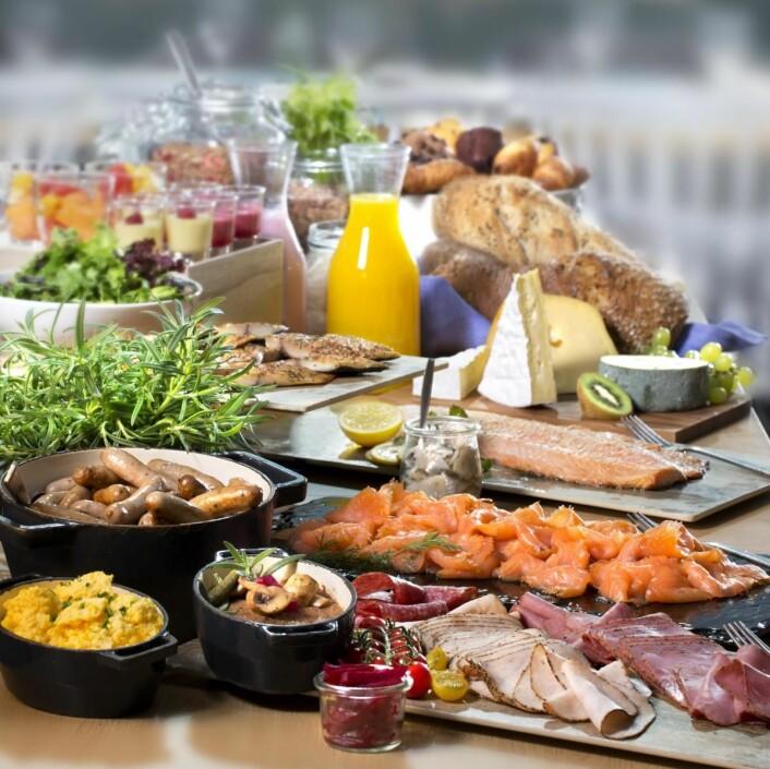 Den prisbelønte Scandic-frokosten. (Foto: Scandic Hotels)