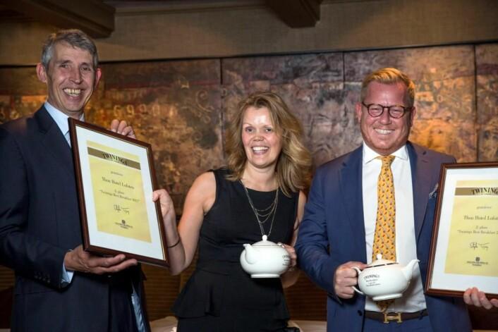 Bronse til Thon Hotel Lofoten i Svolvær til Twinings Best Breakfast 2017. (Foto: Ihne Pedersen/Haugen-Gruppen)