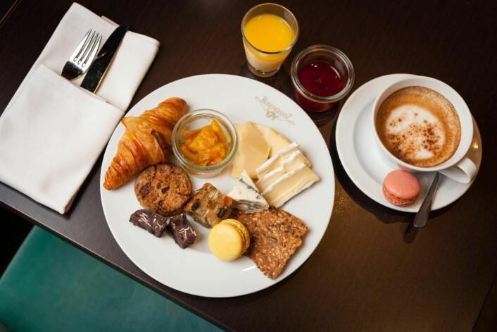 Thon Hotels har et stort utvalg av hjemmelaget og økologisk mat på frokostene sine. (Foto: Thon Hotels)