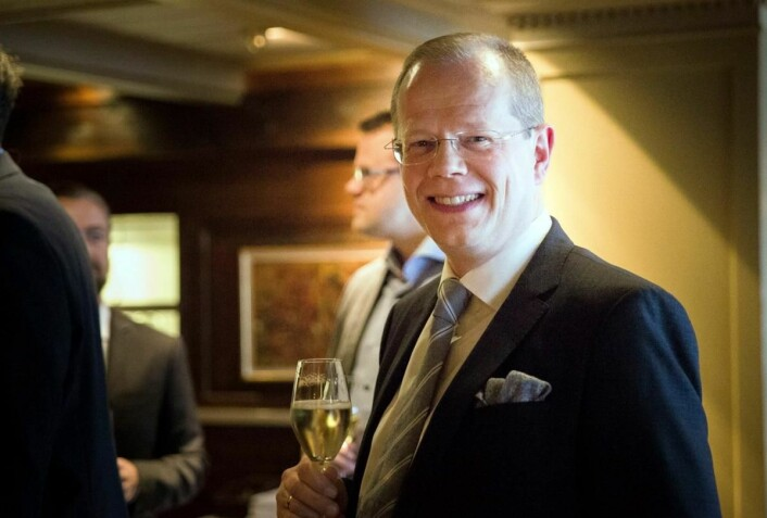 Hotelldirektør Kjetil Vassdal kan fornøyd konstatere at Scandic Nidelven igjen har landets beste hotellfrokost. (Foto: Ihne Pedersen/Haugen-Gruppen)