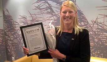 Hallre blir hotelldirektør i Danmark